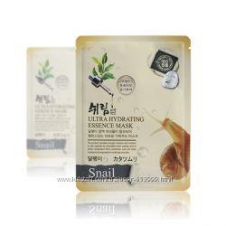Ультраувлажняющая тканевая маска Shelim Ultra Hydrating Essence Mask Snail