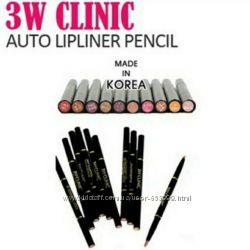 3W Clinic Auto Lipliner Pencil aвтоматический каранадш для контура губ