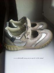 Кожаные туфли Ecco, 25 размер, 16 см стелька