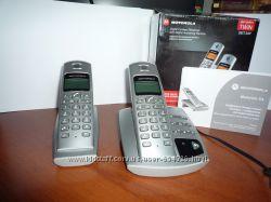 Беспроводной цифровой телефон Motorola D412 отличное состояние