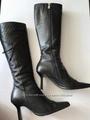 Сапожки кожаные , 37 размер, цена символичная