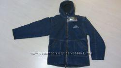 Джинсовые утепленные куртки на ребят 152-162 см