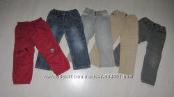 Джинсы и штаны для мальчика на рост 98-104