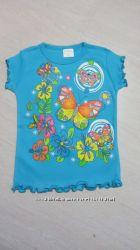 Красивая футболка для девочки 5-6 лет
