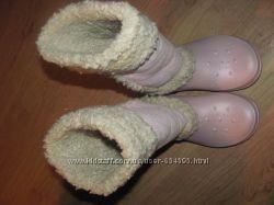 Женские сапоги Crocs. Размер 42, 26. 5см. Состояние - Новые