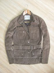 Куртка Zara замша S