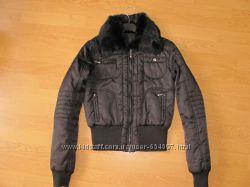 Куртка Италия мех Extyn р. S