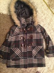 Продаю утепленное пальто унисекс, р 104