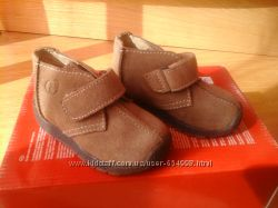 Ботинки замшевые Naturino р. 20 Италия