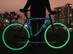Светящаяся краска для тюнинга велосипедов