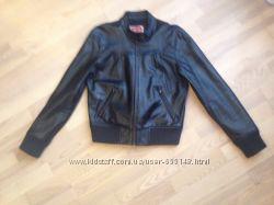 Кожаная натуральная куртка xl
