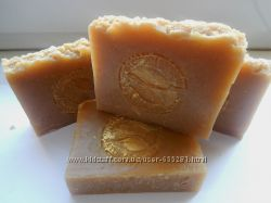 Натуральное шампуневое мыло с нуля Хмель, лопух, крапива и аир 120 гр
