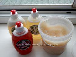 Натуральное мыло для мытья посуды, уборки, стирки