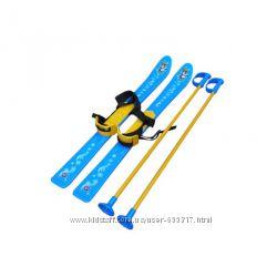 Лыжи детские Технок красные арт. 3350