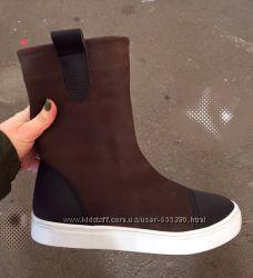 Зимние сапоги ботинки натуральная кожа. Большой выбор. Скидки