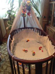 Люлька и кроватка Stokke Sleepi, от 0 до 3 лет, цвет орех