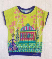 Smil  Модная футболочка с декором в восточном стиле, р. 122