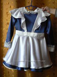 Школьная форма, платье на 7-9 лет
