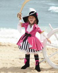 Костюм  Піратка, Мушкетерка, Пиратка, розм. 7-9 років, преміум-клас