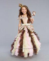 Костюм Шоколадна принцеса, Шоколадная принцесса розм. 6-8 рок. , преміум-кл