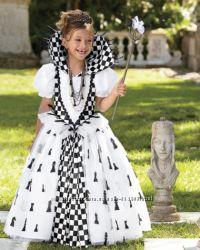 Костюм Шахова королева, Шахматная королева, розм. 7-9 років, преміум-клас