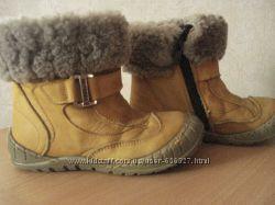 Теплющие кожаные ортопедические ботиночки M. Panda
