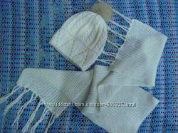Зимний набор шапка и шарфик Politano