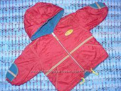 Двухсторонняя деми-куртка на мальчика 1, 5-2-х лет