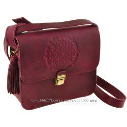 Кожаная сумка кроссбоди разные цвета
