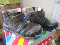 Кожаные ботинки See Kai Run 25р 9 US стелька 16 весна осень отличный вариан