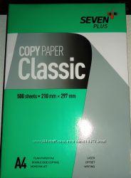 Бумага офисная Seven Plus Classic А4, плотн. 75 гм2, белизн. 149, 500 ли