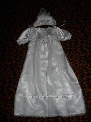 Наряд одежда для крещения Baby Club, р. 68