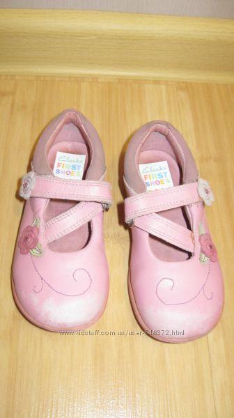 Туфли Clarks для девочки 14, 5 см