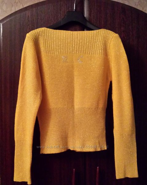 Кофта свитер женская, импортная, желто-горчичная, разм. 44-46