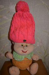 Продам розовую деми шапочку для девочки Сool Club