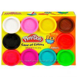 Пластилін Play-Doh набір 10 баночок