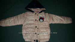 ОЧЕНЬ красивая теплая куртка на девочку. рост примерно 105-115