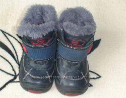Высокие ботинки сапожки 21 р. зима