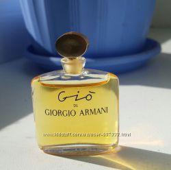 винтажная миниатюра Giorgio Armani Gio 5 мл