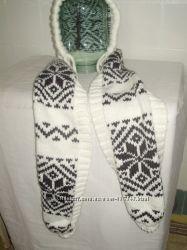 Шапка-шарф бу