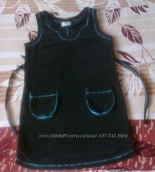 Безумно удобный сарафанчик для беременных-вельвет