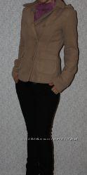бежевое кашемировое пальто, на осень, 44-46 размер