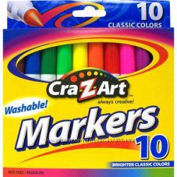 Смывающиеся толстые фломастеры  Cra-Z-Art, США