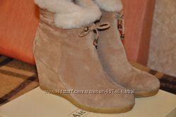 Зимние ботиночки, состояние новых