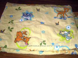 Детский комплект постельного белья одеяло, простыня и пододеяльник
