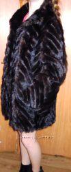 Шикарная натуральная норковая шубка по цене шапки р. 4648 , стойка