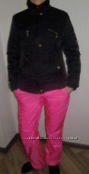 Зимний утепленный костюм брюки на флисе и стеганная куртка, р. 4244
