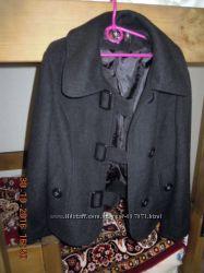 Отличное пальто на подкладке, 70  кашемир, размер 44 М