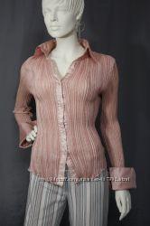 Рубашка шелковая гофре Япония