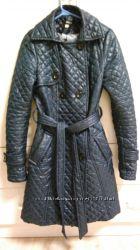 Бесплатная доставка Стеганое пальто плащ